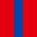 4x Royal Blue / 1x Red