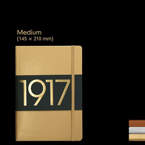 1917 Metallic Edition Notebooks