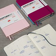 Week Planner 2021, English, with extra booklet for anniversaries and addresses