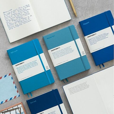 Special Edition LEUCHTKRAFT, Notebook Medium, Hardcover, 251 numbered pages
