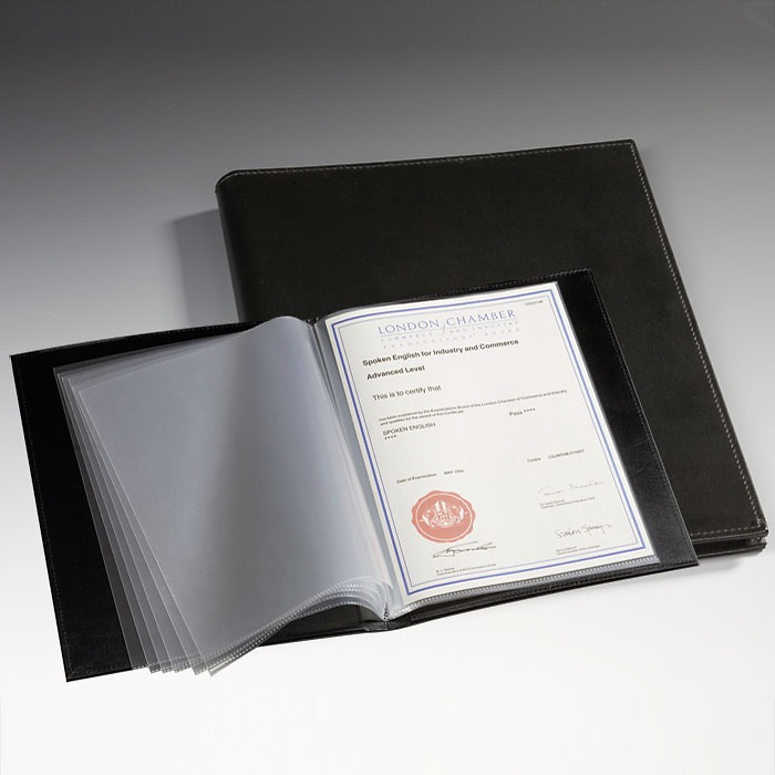 Document Album 9 x 12' (A4), 40 sheets