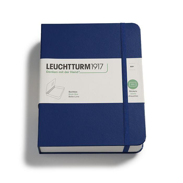 Book Box,  255 x 329 x 60 mm, navy