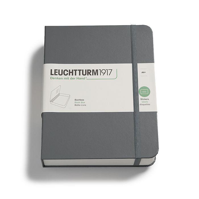 Book Box,  255 x 329 x 60 mm, anthracite
