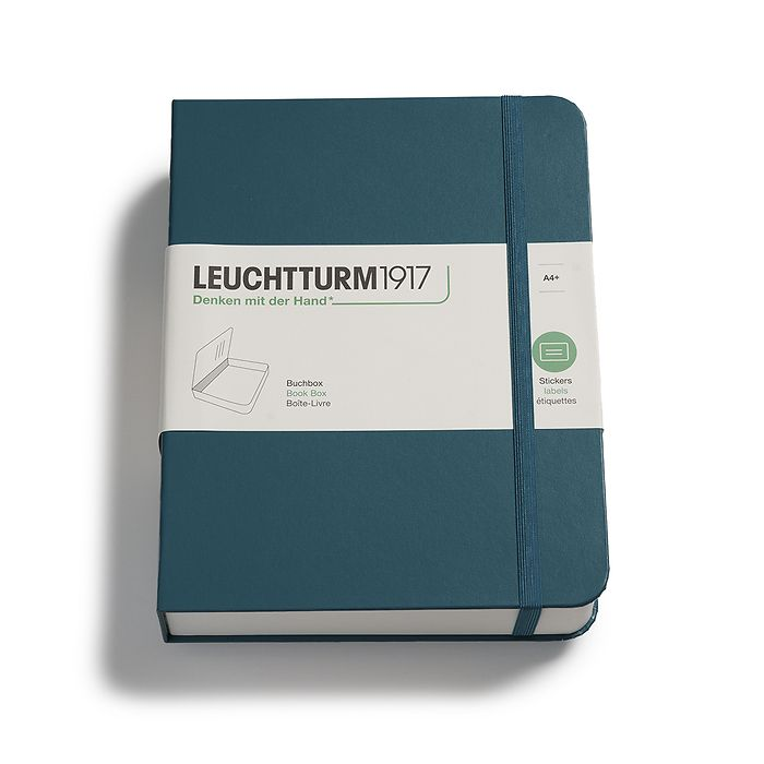 Book Box, pacific green