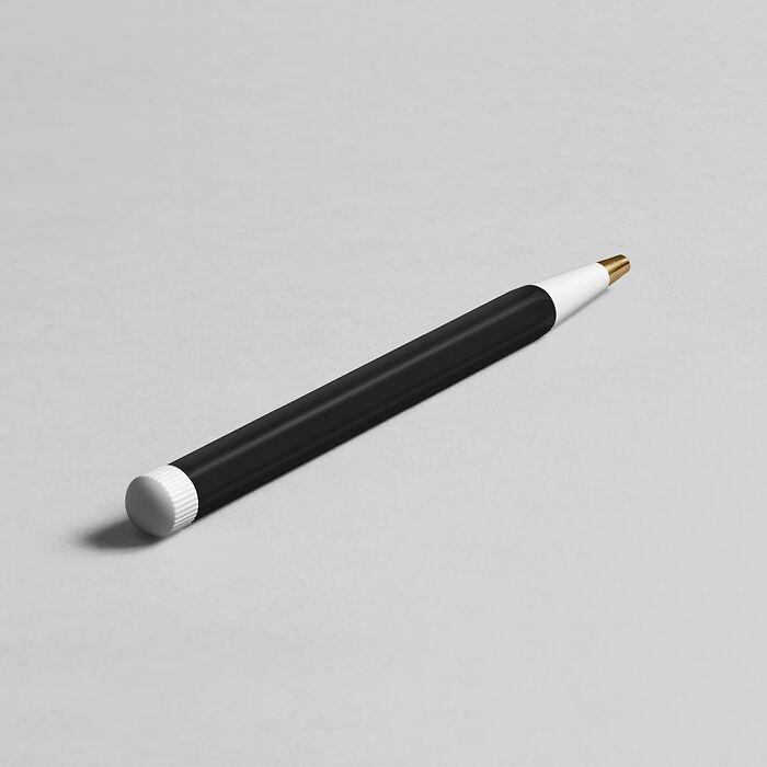 Drehgriffel Nr. 1, Black - Gel pen with black ink