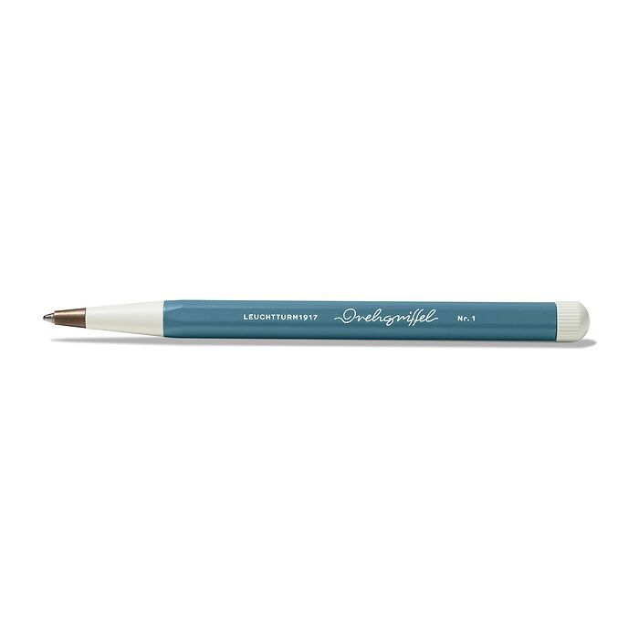 Drehgriffel Nr. 1, Stone Blue - Ballpoint pen with royal blue ink