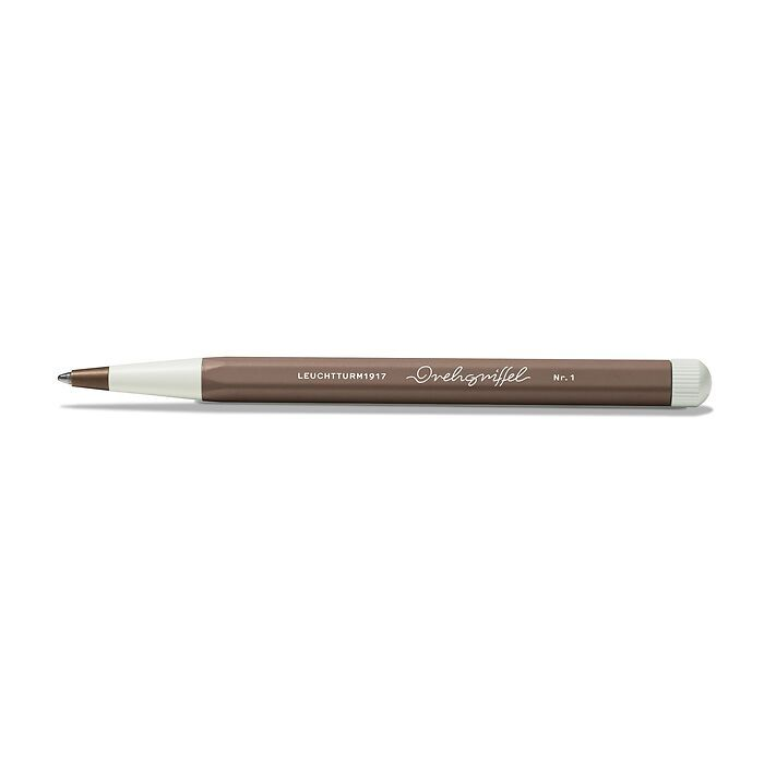 Drehgriffel Nr. 1, Warm Earth - Ballpoint pen with royal blue ink