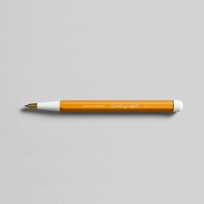 Drehgriffel Nr. 1, Rising Sun - Gel pen with black ink