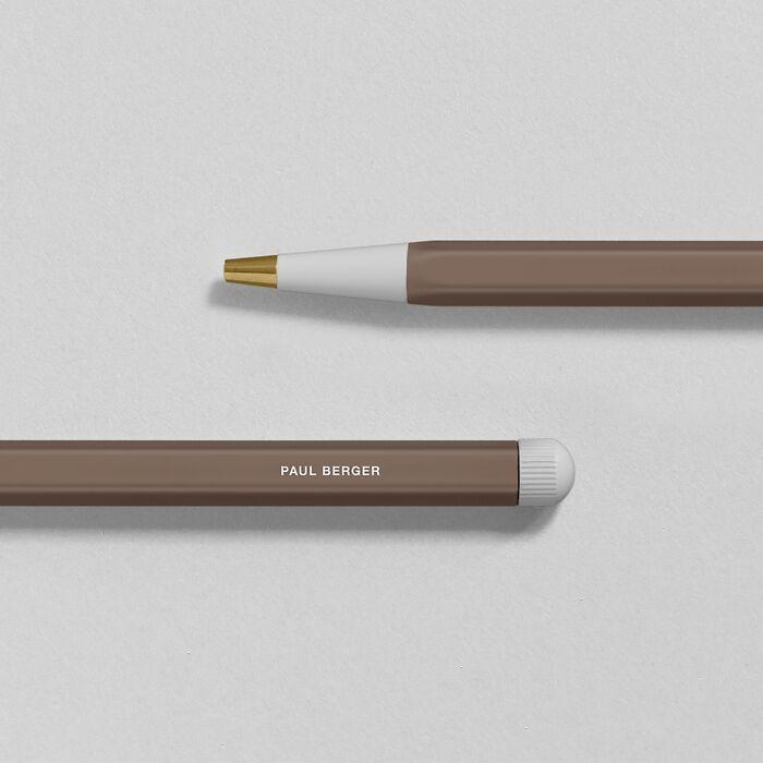 Drehgriffel Nr. 1, Warm Earth - Gel pen with black ink