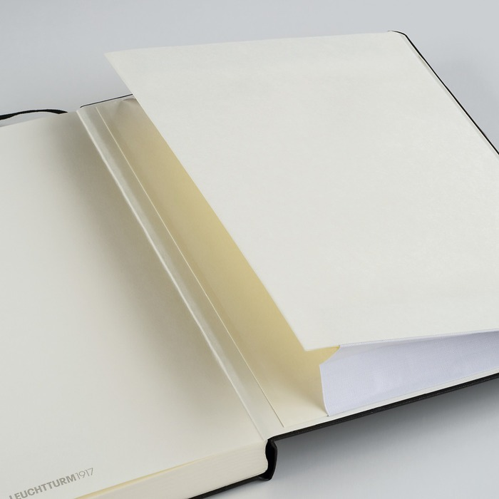 Notebook Master Slim (A4+), Hardcover, 121 numbered pages (8 3/4 x 12 1/2 in)