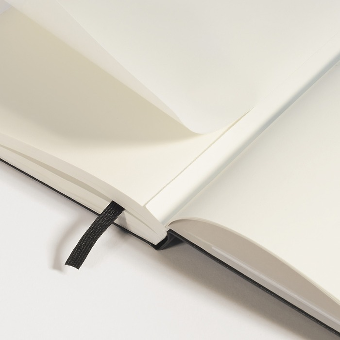 Notebook Mini (A7) Hardcover, 169 numbered pages (2 3/4 x 4 1/2 in)