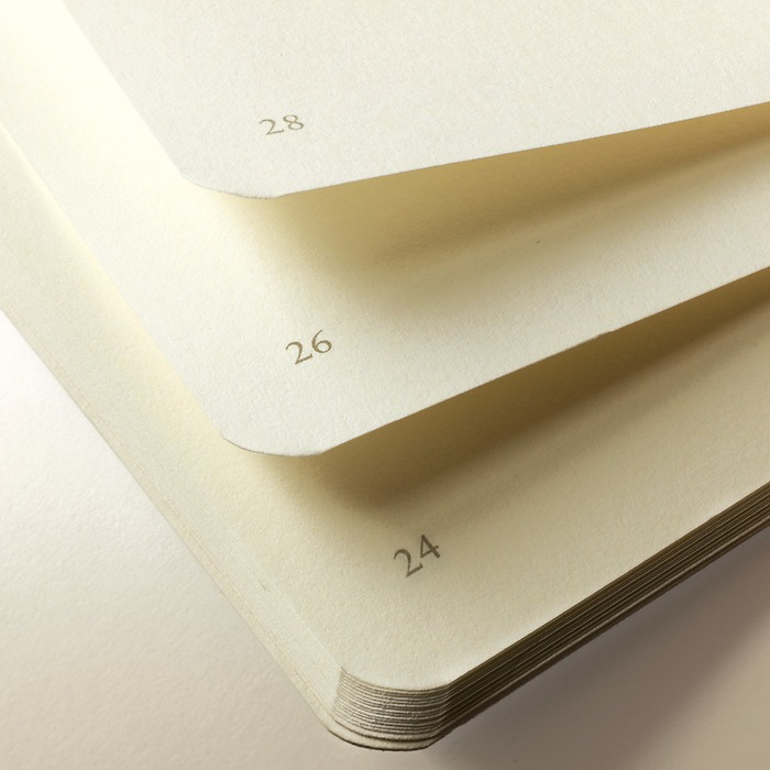 Jottbook Medium (A5), table of contents, 60 pages, 16 sheets removeable