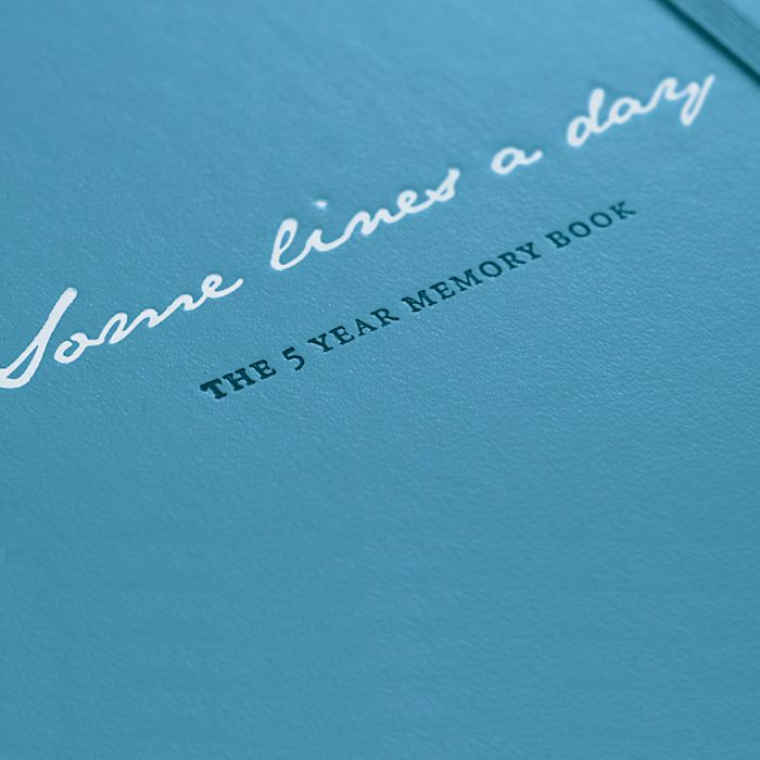 Some Lines A Day - the 5 year memory book