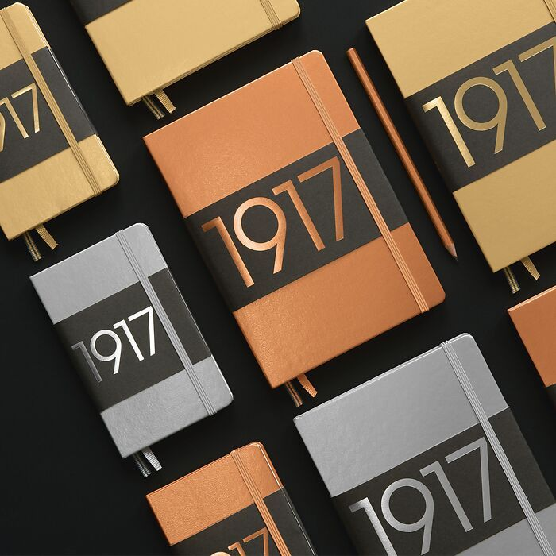 1917 Metallic Edition Notebooks