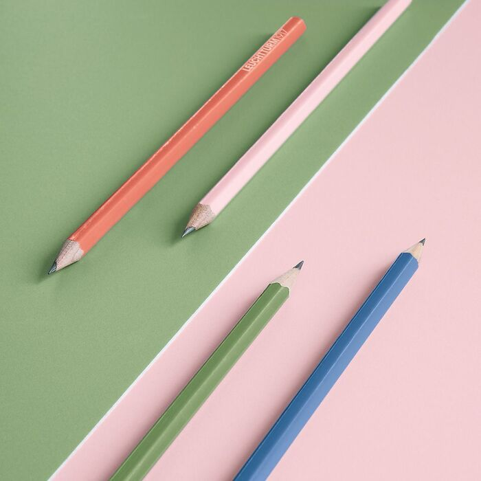 Muted Colours – Pencils