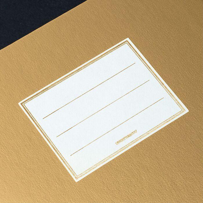 Notebook Metallic Edition